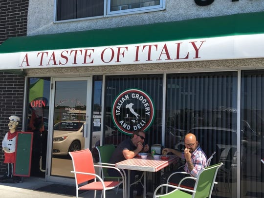 Taste of Italy in Clive.