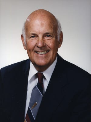 Gordon Guyer, Michigan State University's 18th president, passed away on March 30, 2016. He was 89.