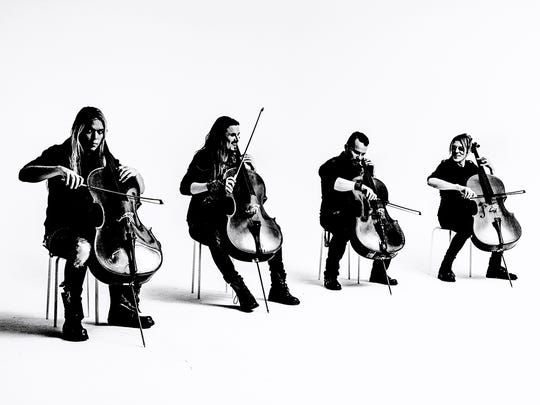 "Apocalyptica: Instrumental cello-driven rock opus tours for the first time in support of ""Plays Metallica By Four Cellos,"" which was released in 1996, 7:30 p.m. May 8, Elsinore Theatre, 170 High St. SE. $25 to $45. 503-375-3574 or www.elsinoretheatre.com."