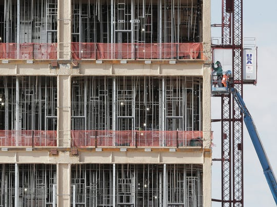 Work was stopped for about three weeks in early 2015 after an El Paso welder died in a construction accident at the new William Beaumont Army Medical Center complex being built on Fort Bliss land in East El Paso.