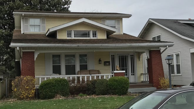 "The house used in exterior shots of ""Roseanne"" at 619 Runnymeade Ave. on the South Side of Evansville."