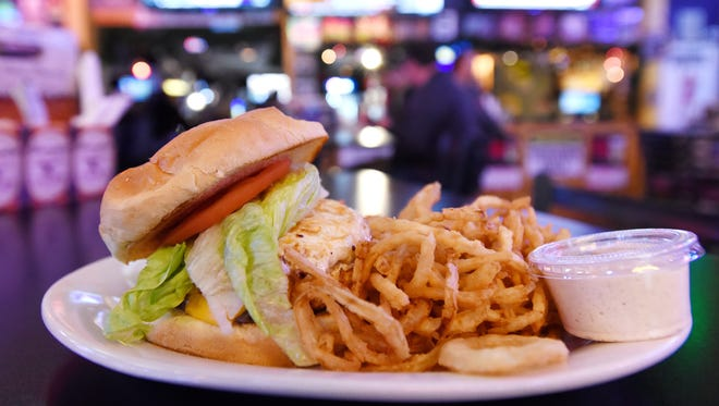 The Barn has added several new specialty burgers to its menu, including the Egg-Zackly Burger, which features an egg on the patty.