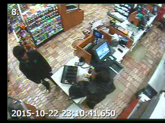 If you recognize the person in this photo call Crime Stoppers at 23-CRIME.