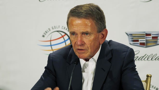 Tim Finchem was appointed PGA Tour commissioner in 1994