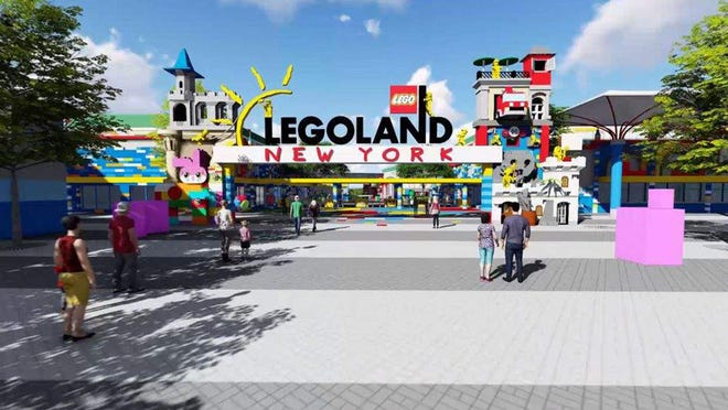 Legoland New York plans to open its $500 million theme park in the Town of Goshen on July 4.