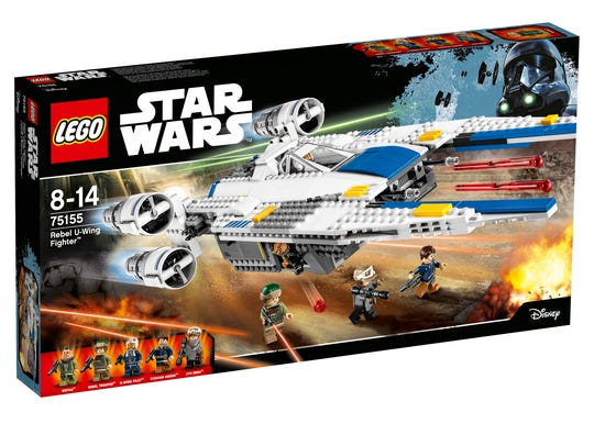 The new Rebel U-Wing Fighter also garners a Lego set,