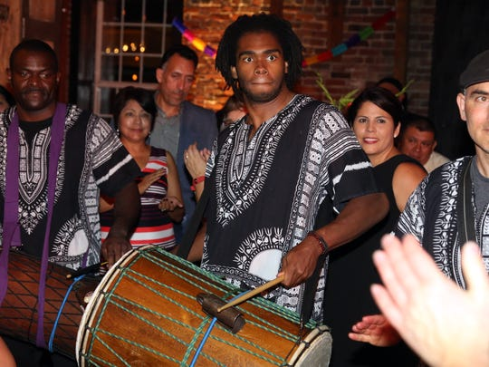 The Global Education Center's drum ensemble will perform at Nashville Public Library locations throughout February.