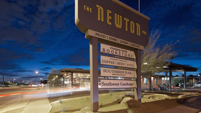 The Newton is a redevelopment of a long-empty midcentury building in central Phoenix.
