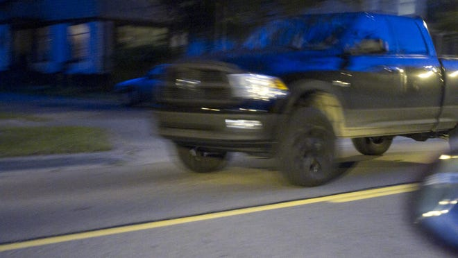 Police arrested a 24-year-old Howell-area woman who allegedly stole this 2010 Dodge Ram pickup and boat trailer from the Thompson Lake area Thursday evening.