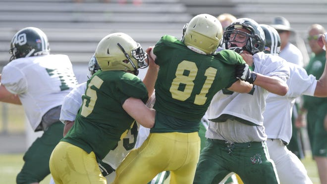 Mitch Susalla (81) is looking to join a veteran Howell defense this season.