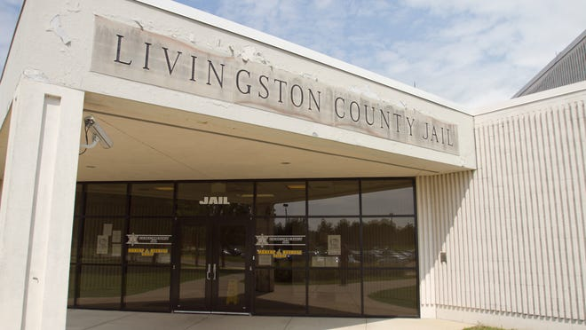 The Livingston County Jail, in the city of Howell.