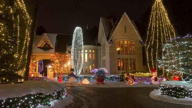 The Berry home on Arbor Bay Court in Genoa Township is always a destination for people looking to enjoy holiday light displays. If you or your neighbor has an attractive display, let the Daily Press & Argus know so we can feature it in our Livingston County Light Tour.