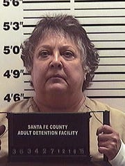 This booking photo provided by the Santa Fe County