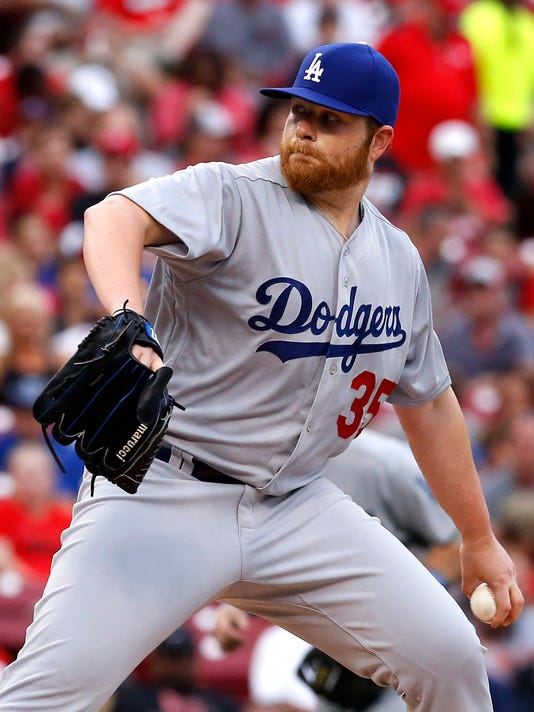 USP MLB: LOS ANGELES DODGERS AT CINCINNATI REDS S BBN USA OH