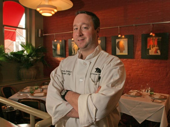 Bruce Lefebvre, executive chef and owner of The Frog