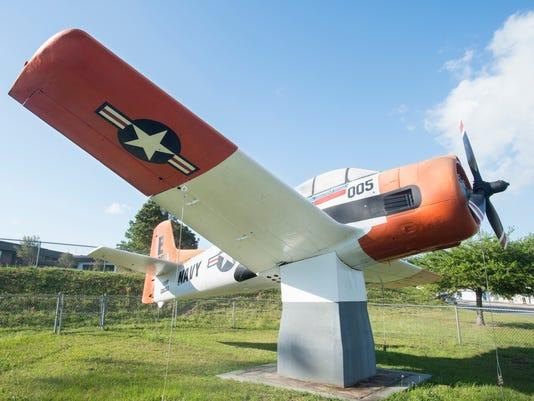 Milton HS airplane