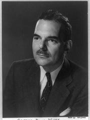 Pictured is Thomas Dewey, who served as governor of