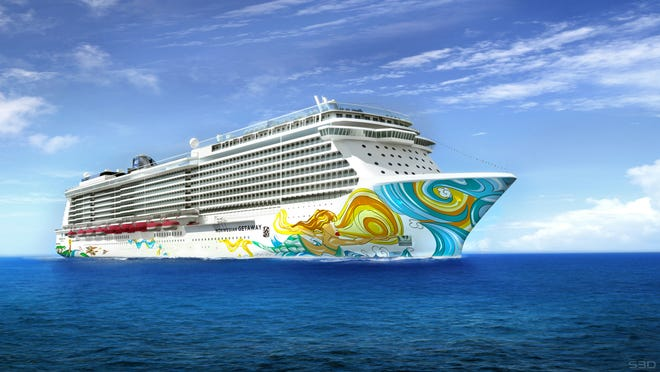 Geoffery Zakarian will have his first restaurant in the Miami market on Norwegian Getaway, when the ship officially debuts in February.