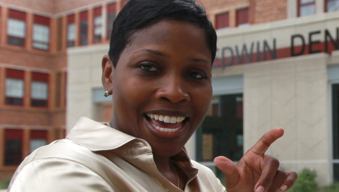 Kenyetta Wilbourn-Snapp, then principal of  Denby High School, in a 2012 file photo.