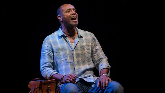 "Milwaukee native Nathaniel Stampley stars in the musical ""The Bridges of Madison County."""