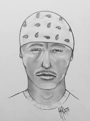 The Farmington Police Department has released a composite sketch of a man who is accused of attempting to sexually assault a woman in Berg Park on July 21.