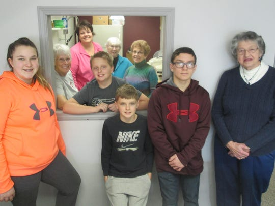 The Waupun United Methodist Church served two hot meals