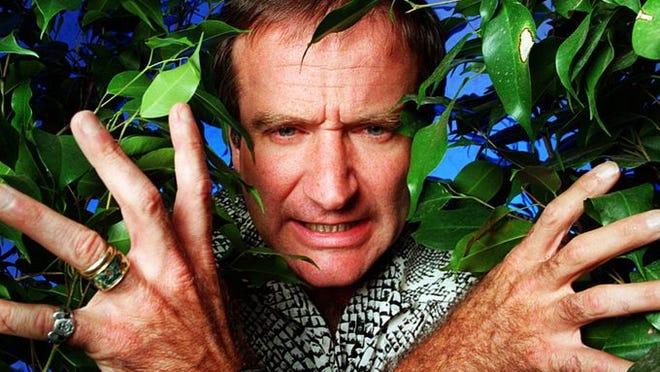 Robin Williams in Jumanji.