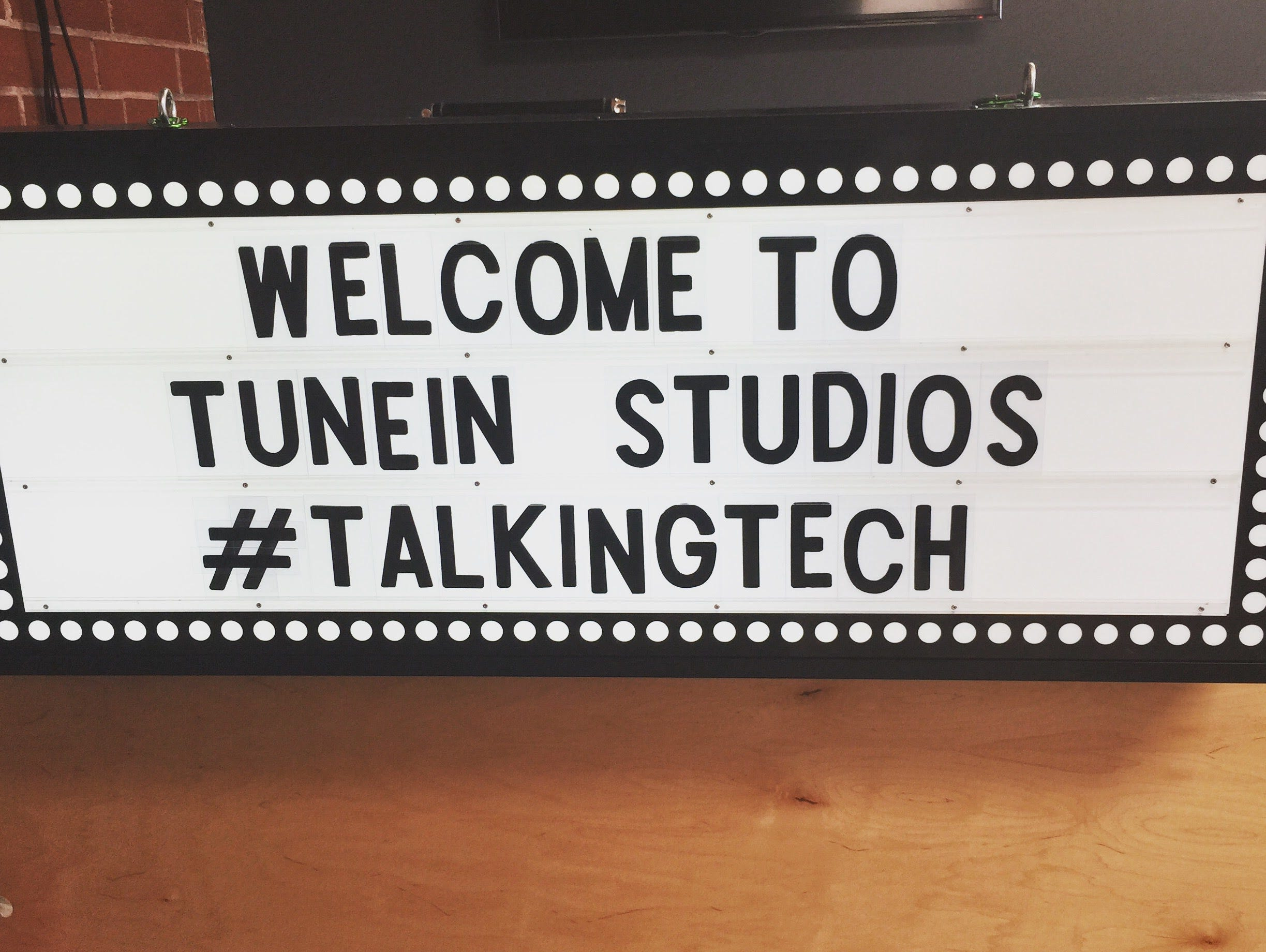TalkingTechLIVE on TuneIn.