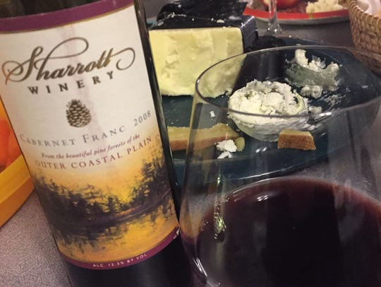 Sharrott's Cabernet Franc pairs well with rich and
