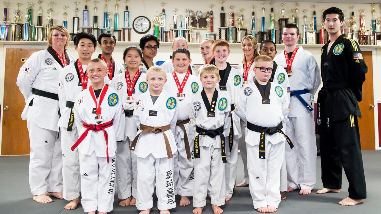 The competition team at So's Taekwondo recently won a combined 12 individual medals at the 2017 National Championships.
