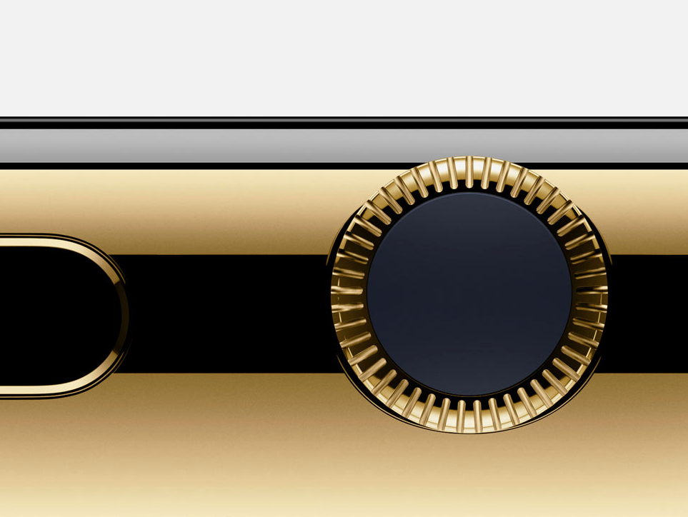 Apple's gold Edition watch