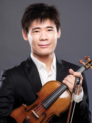 "Violinist Angelo Xiang Yu will join the Binghamton Philharmonic for Bruch's ""Violin Concerto No. 1."""
