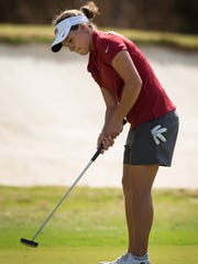 With an impressive performance thus far, freshman golfer Amanda Doherty has made her presence felt thus far for the Seminoles.
