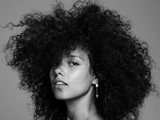 The cover image of Keys' 'Here' album.
