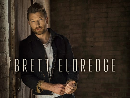 Brett Eldredge will release his self-titled third album