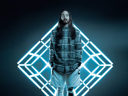 Steve Aoki performs Friday night.