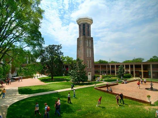 Belmont University campus.