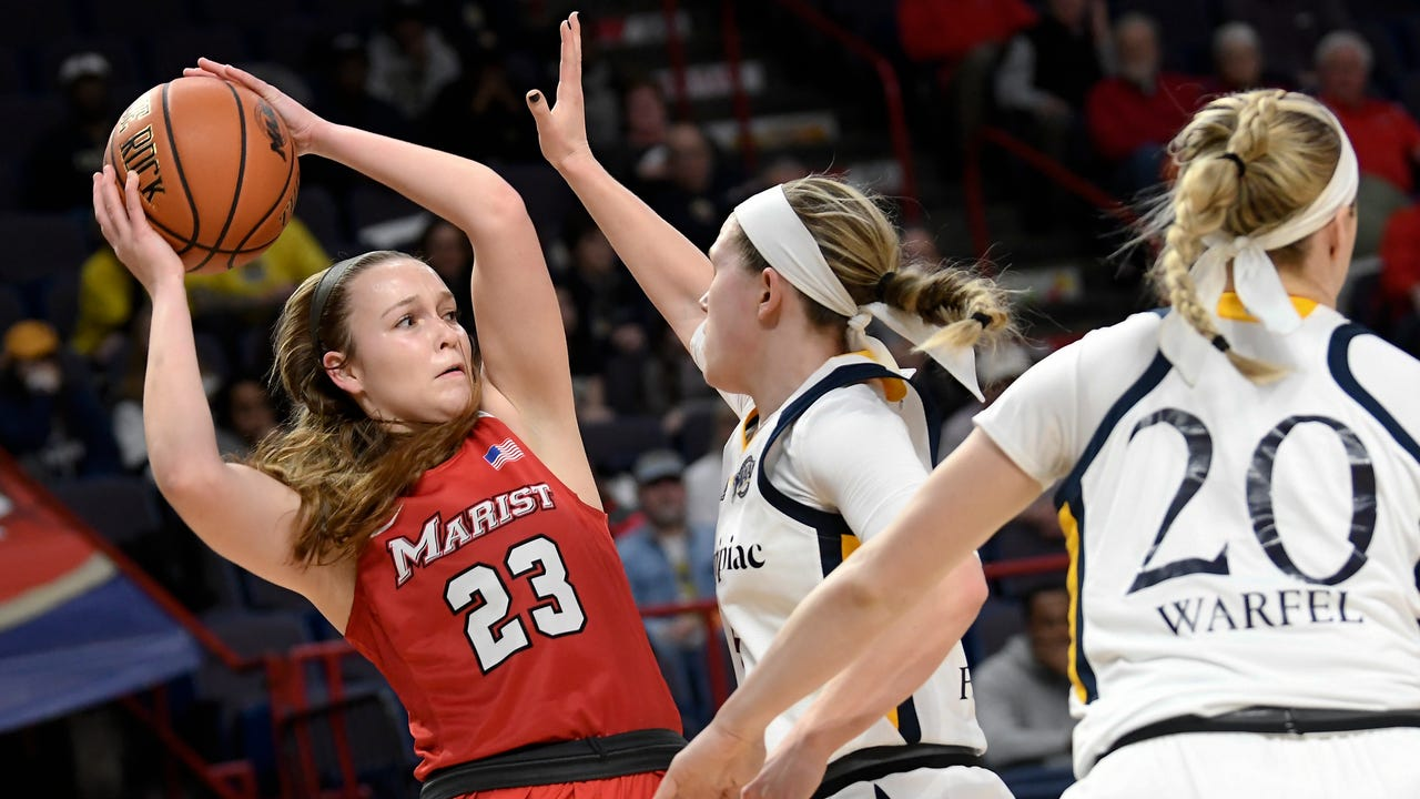 The Marist College women's basketball team lost to Quinnipiac Monday in the Metro Atlantic Athletic Conference final