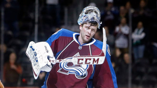 Colorado Avalanche goalie Semyon Varlamov is 16-8-1 with a 2.37 goals-against average and .924 save percentage this season.