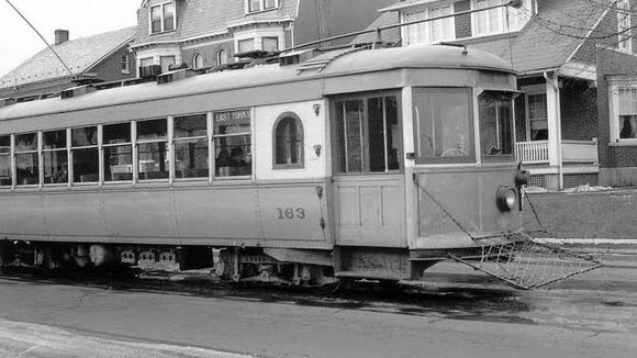 The last York County trolley rolled into York's square in 1939. But this trolley, No. 163, is still clanging away on tracks about two hours away. More on that coming up. This gallery takes a spin through York County trolley history in just a few photos. - Jim McClure