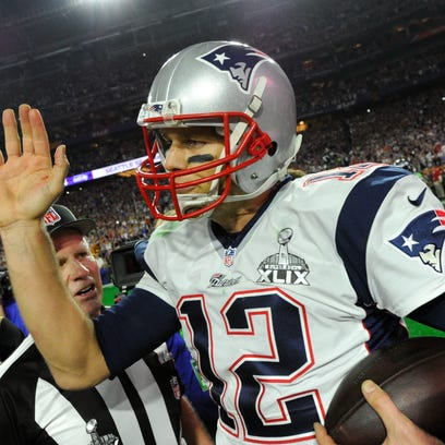 New England Patriots quarterback Tom Brady's four-game
