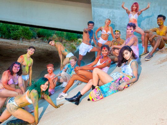 Our rainbow models are Coachella Valley LGBTQ residents and allies.