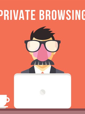 Private browsing from your web browser can help if you're looking for a surprise gift and don't want your computer to spoil it.