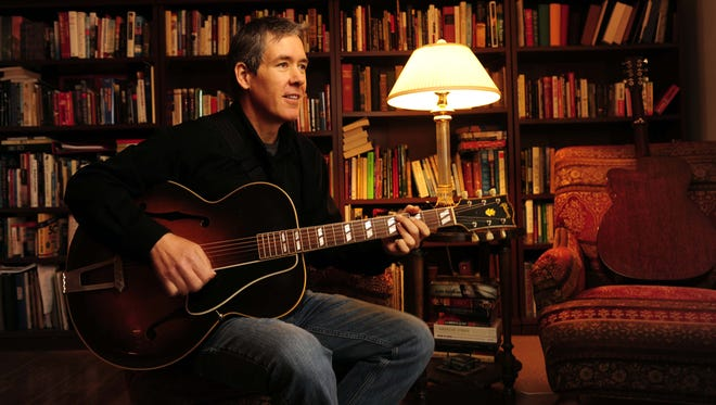 Guitarist Pete Huttlinger at his Nashville home in 2012