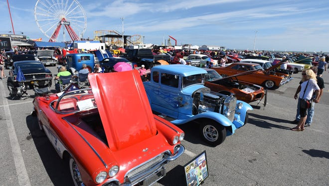 Ocean City events like Endless Summer Cruisin' help extend the resort's tourist season.
