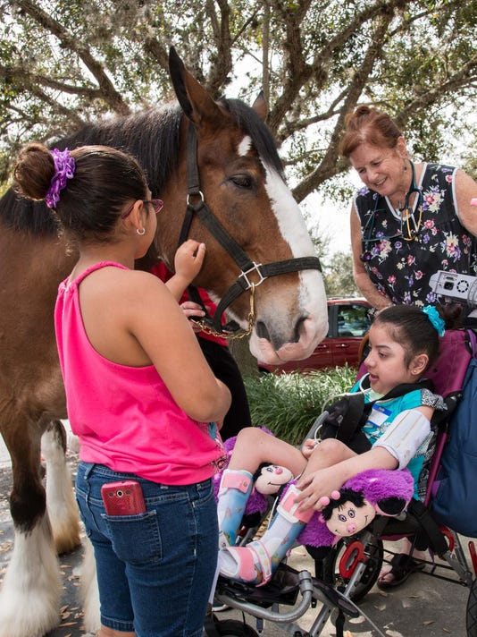 Aneysha+and+Shanelles+Vasquez+with+Tally+the+Clydesdale.jpg