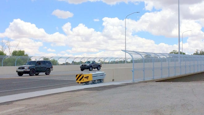 The NM90/Hudson Street Bridge has been completed.