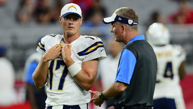Wherever the Chargers play next season, Philip Rivers wants it to be with Mike McCoy as coach.