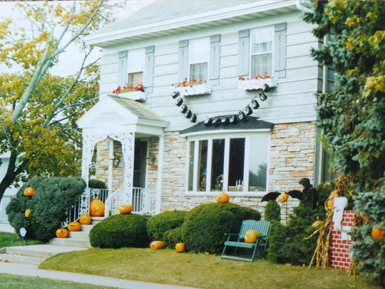 "Ron and Donna Feest's home in Two Rivers decorated as the ""Pumpkin House"" in this undated photo."