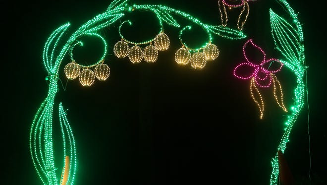 Martinis and Mistletoe features complimentary access to Holiday Lights at Cheekwood.